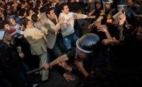 Den 25 januari 2011 inleddes ett folkligt uppror i Egyptens huvudstad Kairo. Protesterna spred sig till andra delar av landet. BIld: Scott Nelson/NY Times/TT.